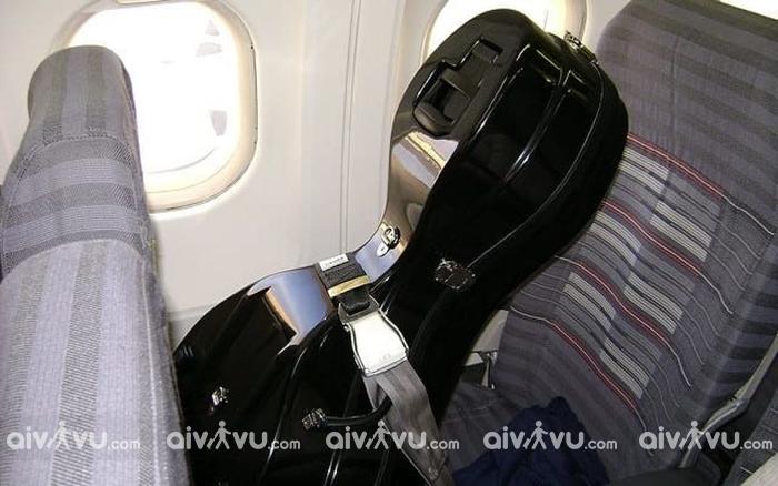 Vận chuyển nhạc cụ lên máy bay dưới dạng hành lý xách tay