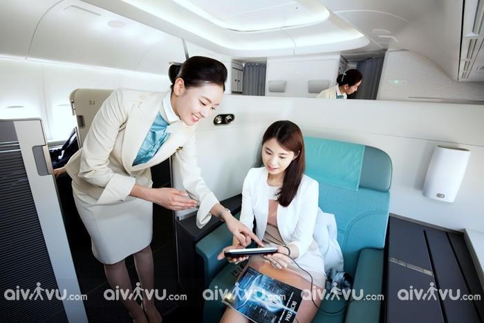 Vì sao nên mua vé máy bay Korean Air?