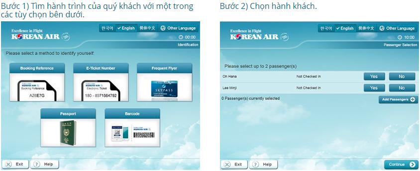 Hướng dẫn làm thủ tục lên máy bay Korean Air đơn giản