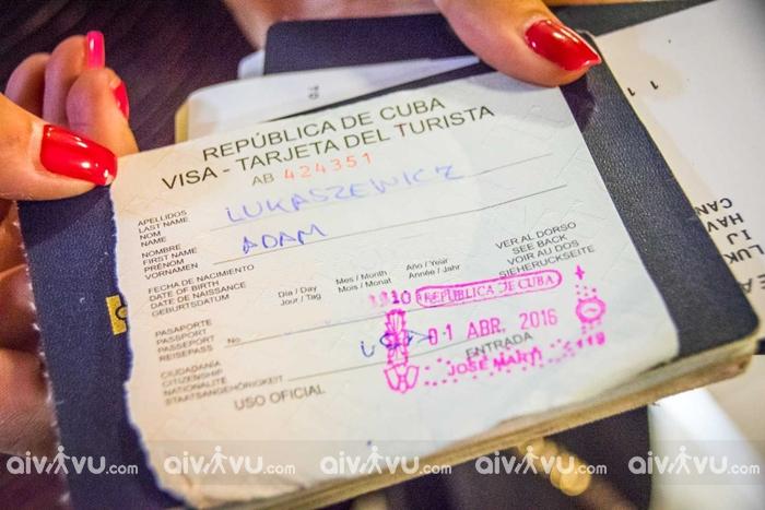 Dịch vụ làm visa Cuba trọn gói tại ở đâu?