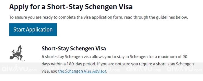 Hướng dẫn điền tờ khai xin visa Hà Lan mới nhất