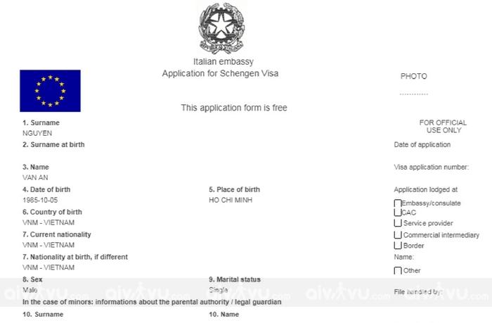 Hướng dẫn xin visa Italia online mới nhất
