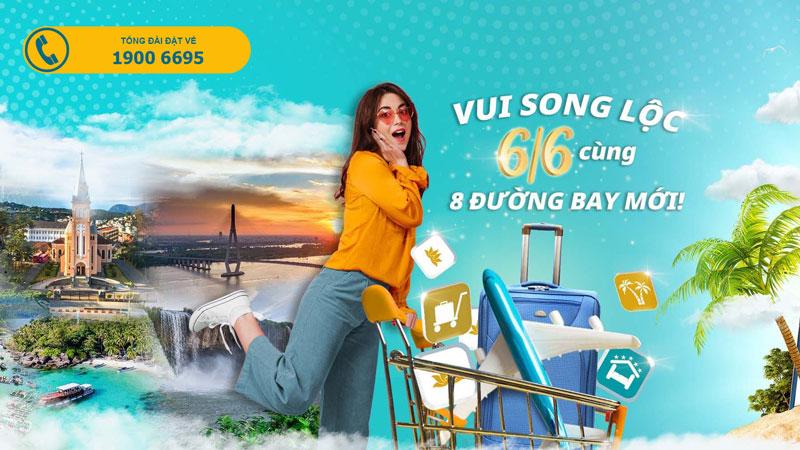 """Săn vé khuyến mãi """" Song lộc - 6/6"""" từ Vietnam Airlines"""