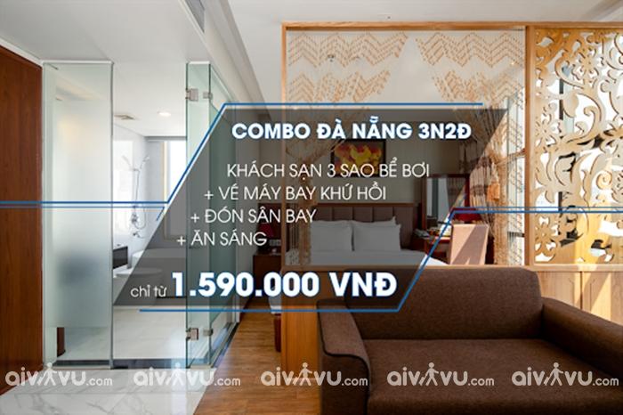 Kinh nghiệm mua combo vé máy bay khách sạn Đà Nẵng giá tốt nhất