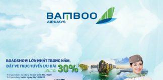 """Bamboo Airways khuyến mãi giảm 30% giá vé """" bay hè sảng khoái"""""""