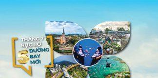 Khuyến mãi chỉ 69.000 VND mừng 5 đường bay mới từ Vietnam Airlines