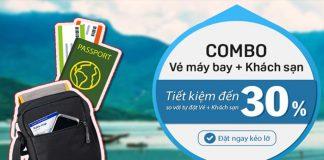 Lợi ích của việc mua combo vé máy bay khách sạn khi đi du lịch