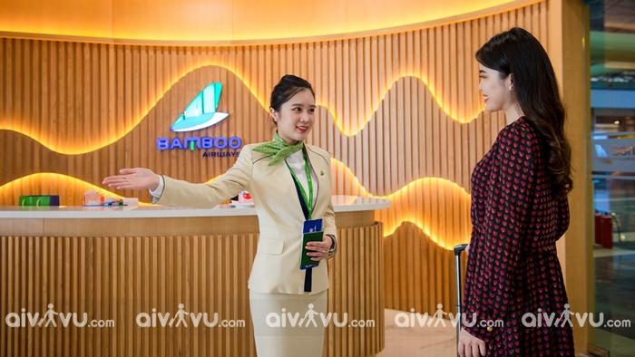 Phòng chờ hạng thương gia First Lounge by Bamboo Airways