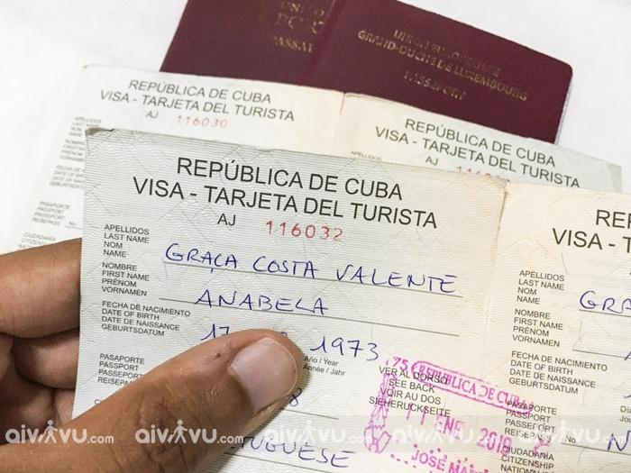 Thủ tục xin visa Cuba cần giấy tờ gì?