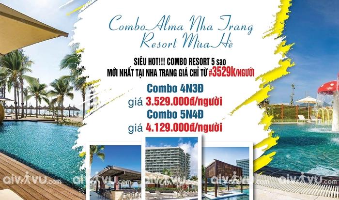 Ưu điểm của mua combo vé máy bay khách sạn Nha Trang giá rẻ