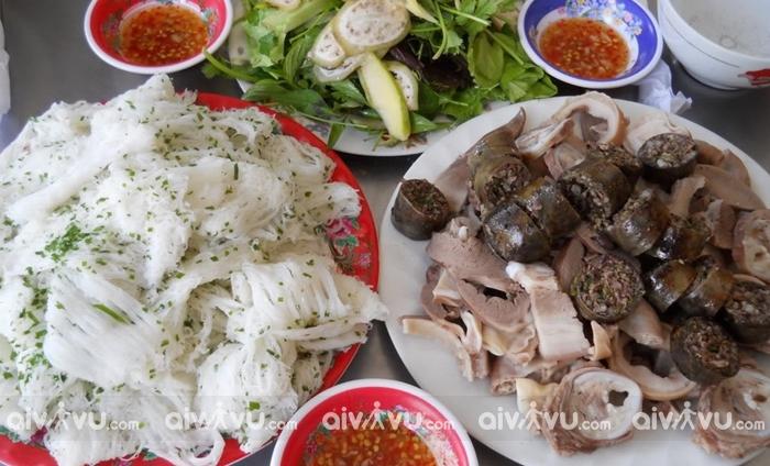 Bánh hỏi lòng heo ẩm thực đặc trưng Phú Yên