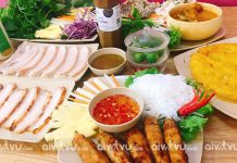 Bánh tráng cuốn thịt heo món ăn đường phố ngon tuyệt tại Đà Nẵng