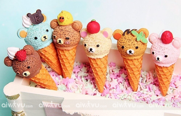 Chichi Pong Ice Cream món tráng miệng đẹp mắt của Hàn Quốc