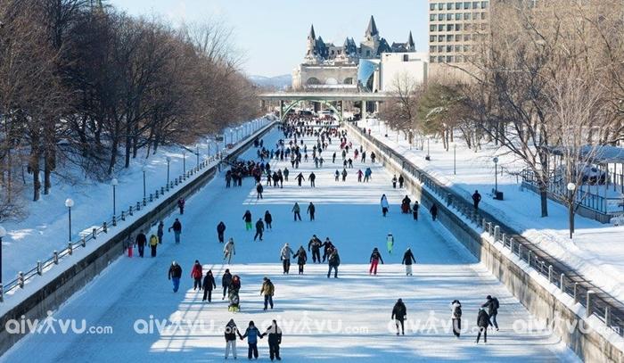 Du lịch Canada vào mùa đông