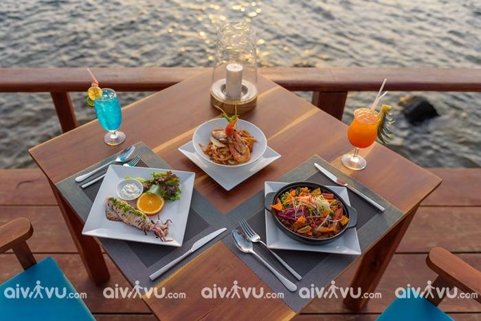 Camia Resort & Spa phục vụ bữa sáng hàng ngày