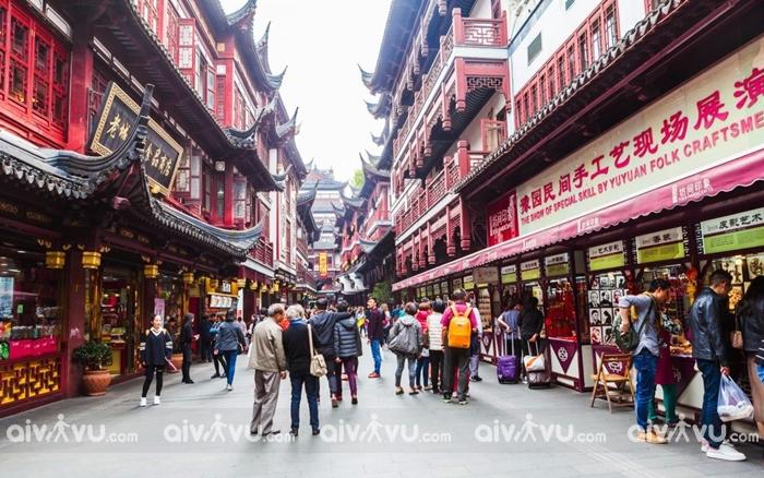 Phố Miếu Thành Hoàng ( Thượng Hải )