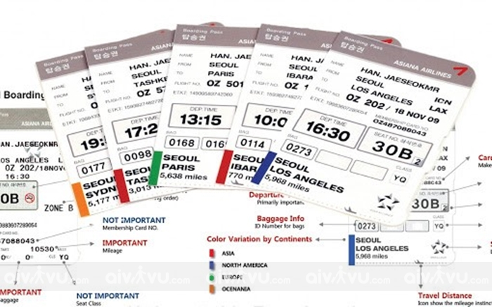 Quy định hoàn đổi vé máy bay Asiana Airlines mới nhất