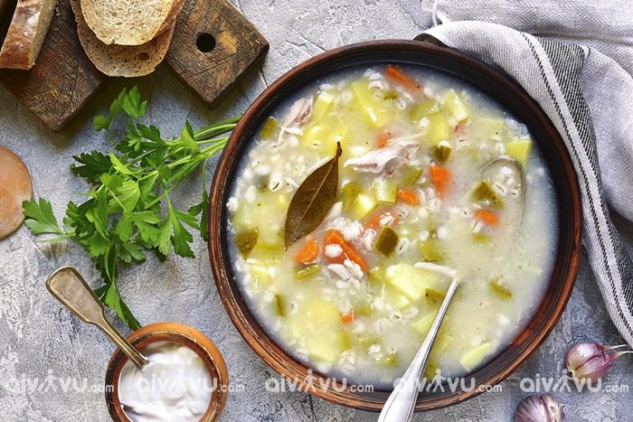Rassolnik – món ăn ngon nhất nước Nga