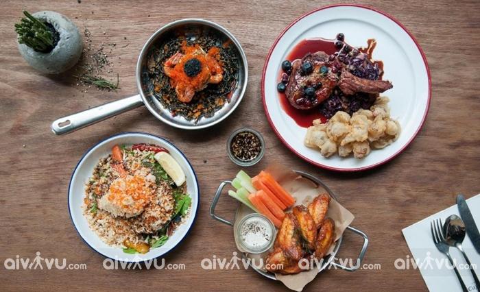 Sử dụng 3 bữa tại Vinpeal với 200 món ăn Âu- Á