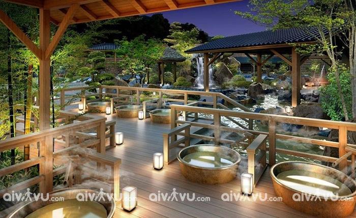 Tắm khoáng Yoko Onsen Quang Hanh