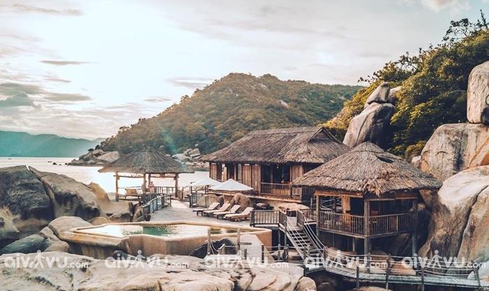Vịnh Ninh Vân vẫn giữ được nét hoang sơ thuần khiết