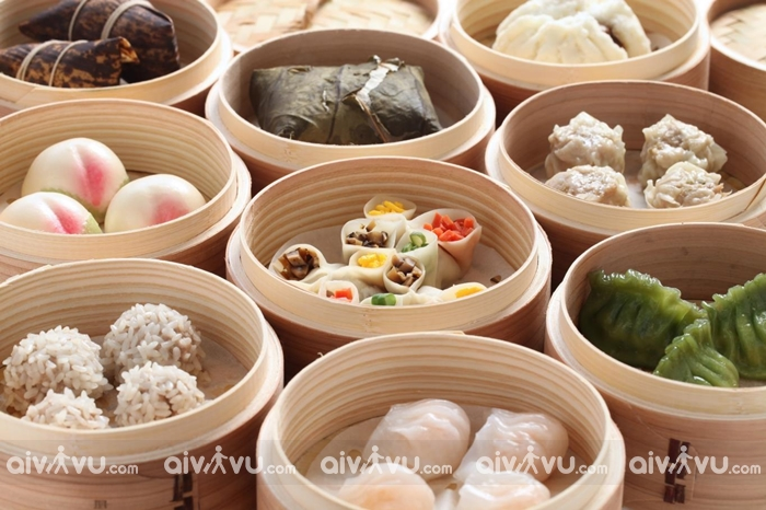 Ẩm thực Singapore với dimsum nổi tiếng