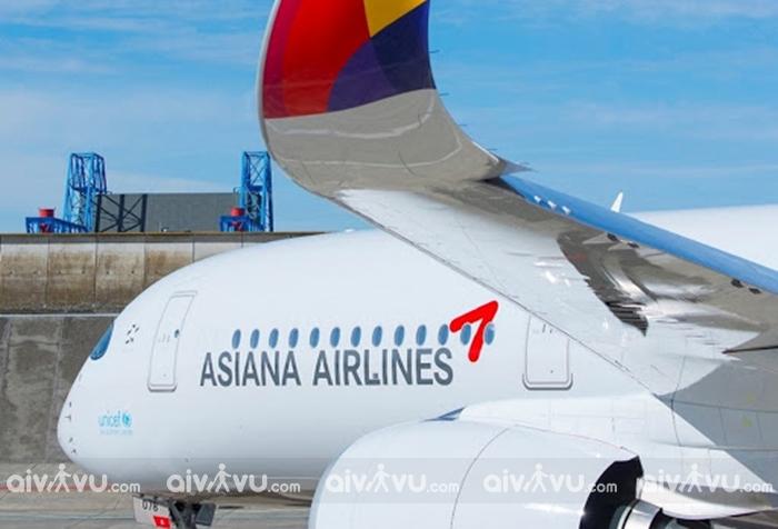 Asiana Airlines – Hãng hàng không Hàn Quốc đạt chuẩn quốc tế