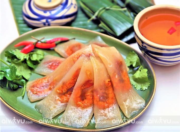 Bánh bột lọc gói - món ăn vặt nổi tiếng hàng đầu xứ Huế