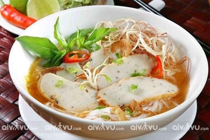Bún chả cá – Món ăn nổi tiếng Nha Trang