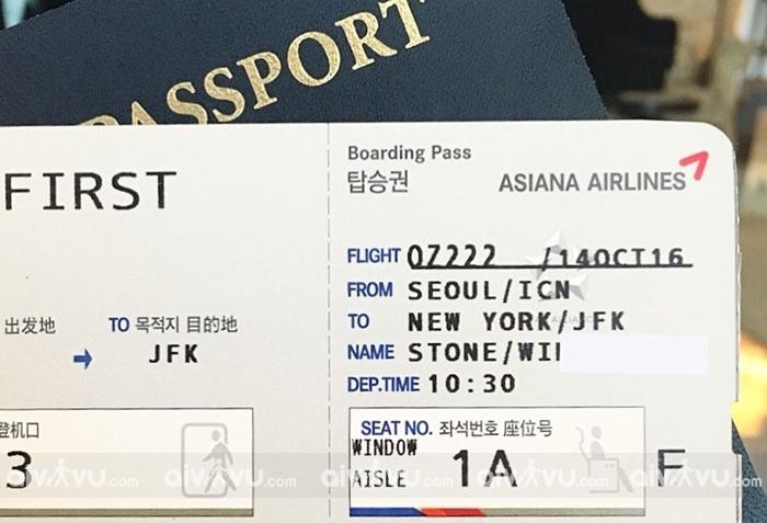 Asiana Airlines và các hãng hàng không quốc tế không cho phép đổi tên hành khách
