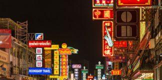Con phố người Hoa nổi tiếng ở Bangkok, Thái Lan
