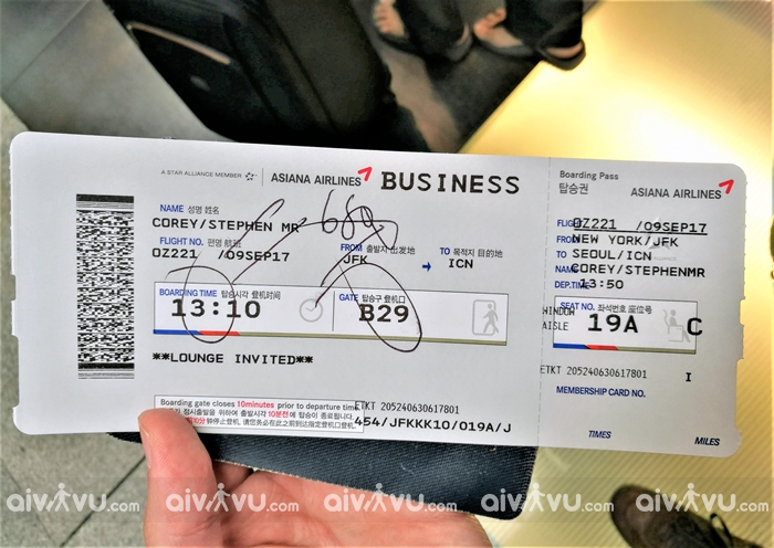 Điều kiện hoàn hủy vé máy bay Asiana Airlines nhanh chóng, tiện lợi