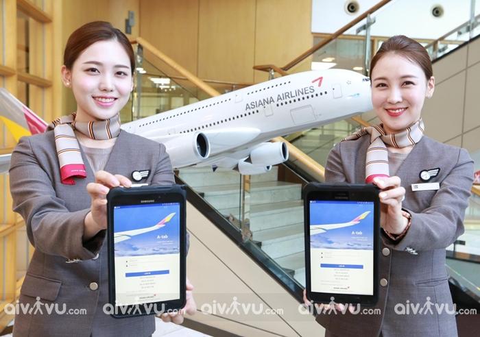 Hướng dẫn mua vé máy bay Asiana Airlines giá rẻ nhất