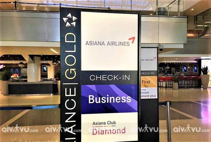 Hướng dẫn làm thủ tục lên máy bay Asiana Airlines nhanh chóng