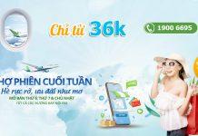 Săn khuyến mãi từ Bamboo Airways chỉ 36.000 VND đón hè rực rỡ