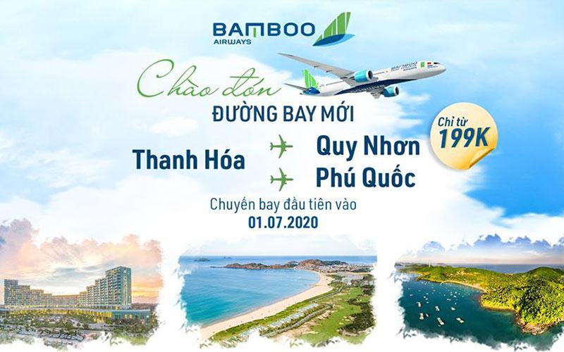 Mừng đường bay mới Bamboo Airways khuyến mãi chỉ từ 199.000 VND