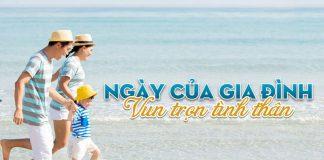 """Khuyến mãi """" Mua 2 vé người lớn tặng vé trẻ em"""" Vietnam Airlines"""