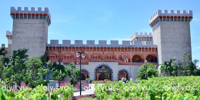 Tham quan lâu đài rượu vang tại Phan Thiết