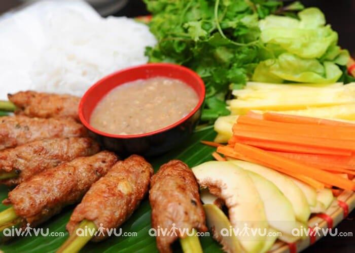 Nem nướng Ninh Hòa – Món ăn nổi tiếng Nha Trang