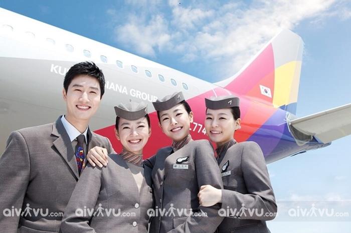 Nên hủy vé hay đổi vé máy bay Asiana Airlines?