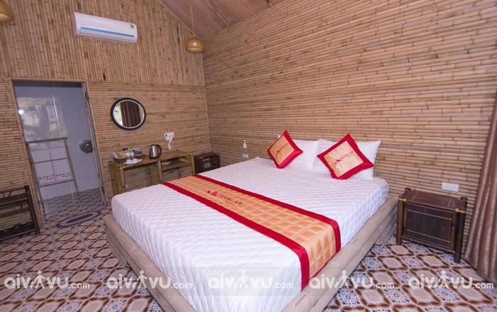 2 ngày 1 đêm nghỉ dưỡng tại Tràng An Valley Bungalow hạng phòng Double