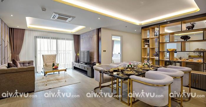 Tất cả các phòng đều được trang bị đầy đủ với tính năng của vàng.