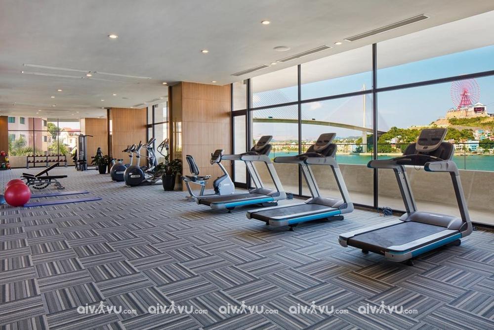 Phòng tập Gym tại Wyndham Legend Halong