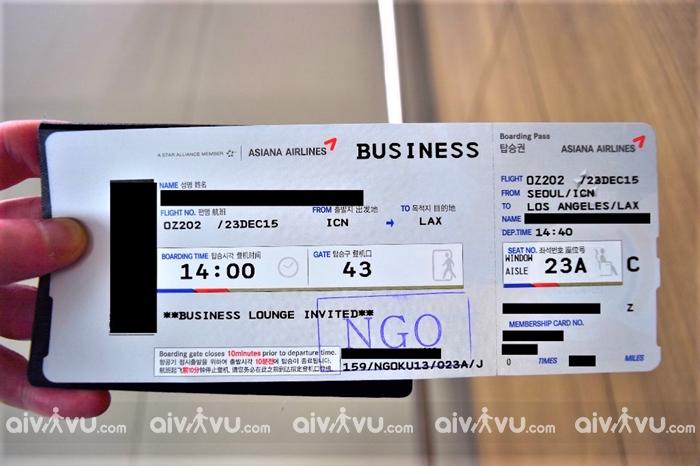 Quy định đổi ngày vé máy bay Asiana Airlines mới nhất