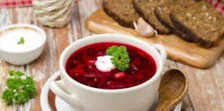 Soup củ cải đỏ – món ăn ngon nhất nước Nga