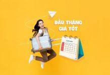 Vietnam Airlines khuyến mãi đầu tháng giá tốt vé máy bay siêu rẻ