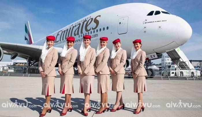 Đặt mua vé máy bay Emirates giá rẻ
