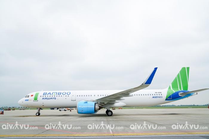 Mạng lưới đường bay đội bay Bamboo Airways
