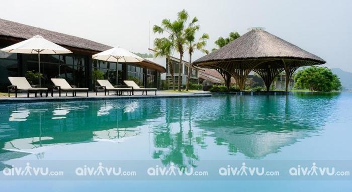 Miễn phí sử dụng bể bơi trong nhà và ngoài trời