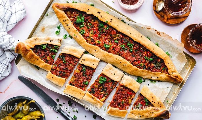 Pide Pizza của Thổ Nhĩ Kỳ